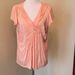 Size XL Elle Peach Top